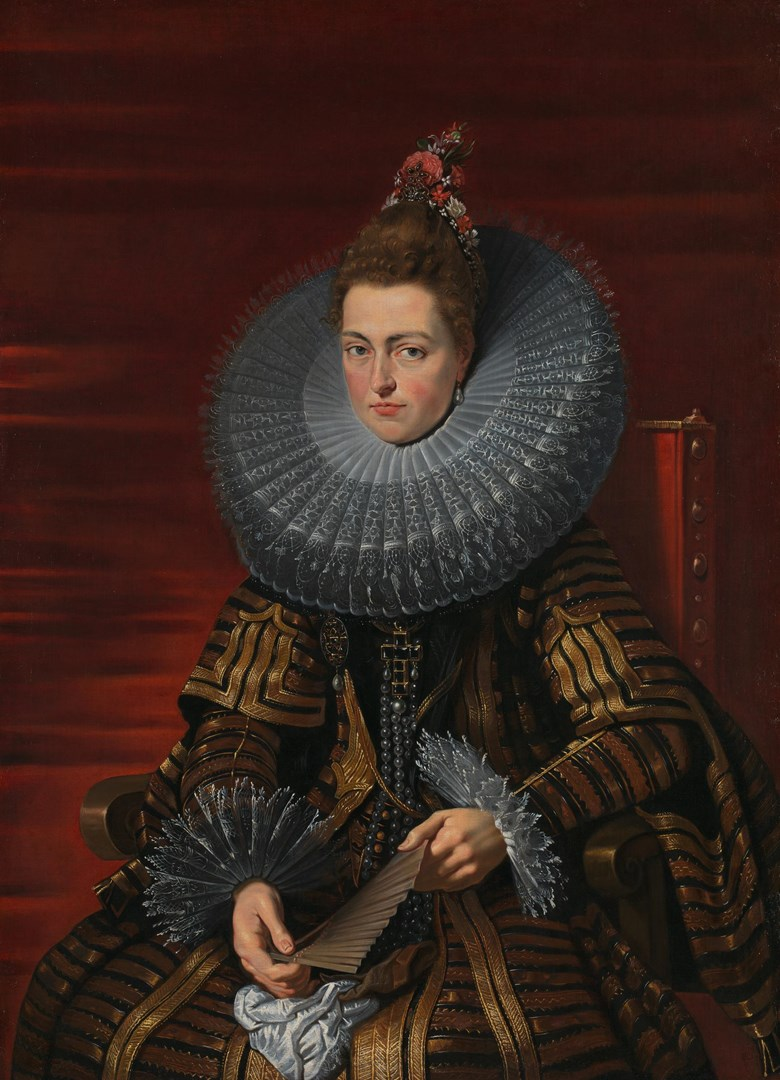 Portrait of the Infanta Isabella by Studio of Peter Paul Rubens