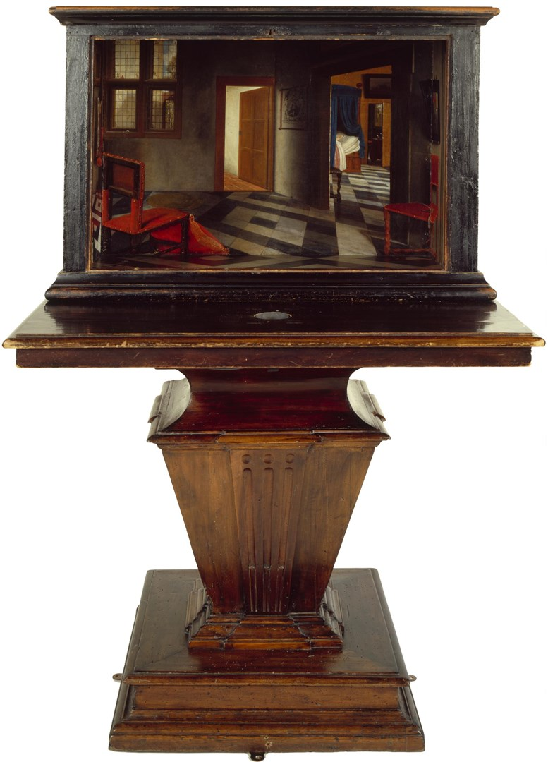 A Peepshow with Views of the Interior of a Dutch House by Samuel van Hoogstraten