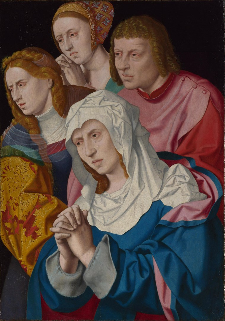 The Virgin, Saints and a Holy Woman by Bartholomeus Bruyn the Elder