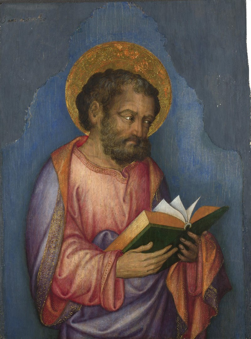 A Saint with a Book by Michele Giambono