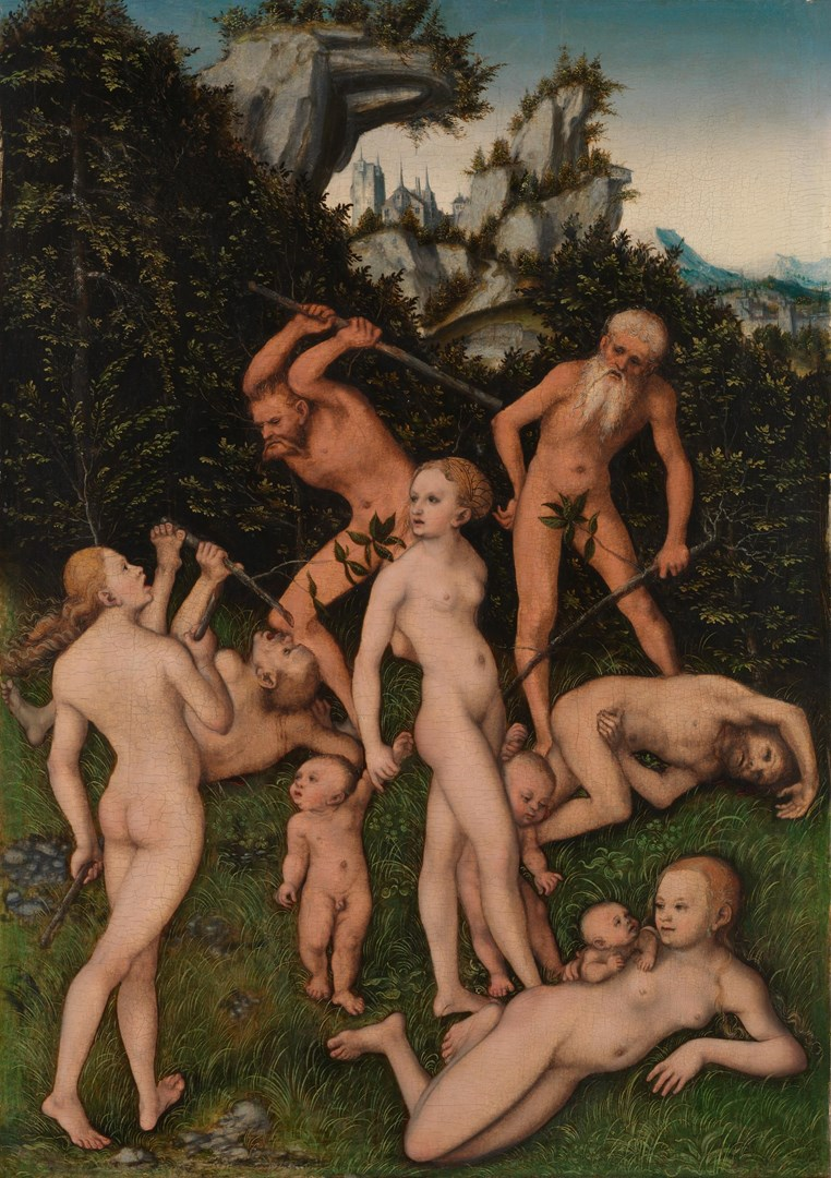 Primitive People by Lucas Cranach the Elder