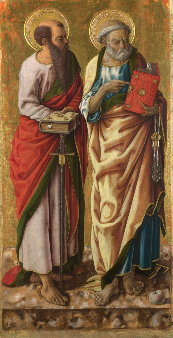 Saints Peter and Paul by Carlo Crivelli