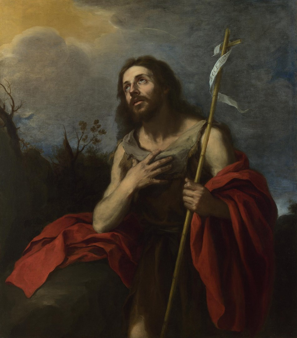 Saint John the Baptist in the Wilderness by Probably by Bartolomé Esteban Murillo