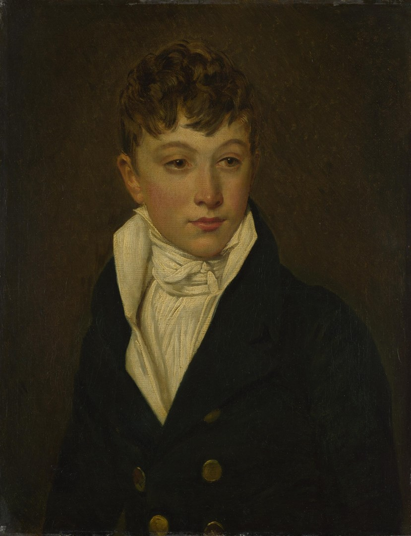 Portrait of a Boy by French