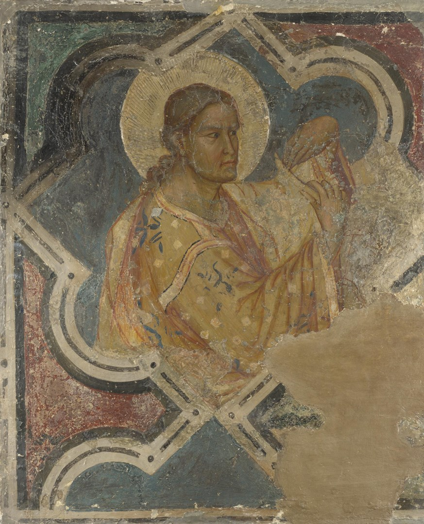 An Evangelist by Italian, Umbrian (possibly Master of San Crispino)