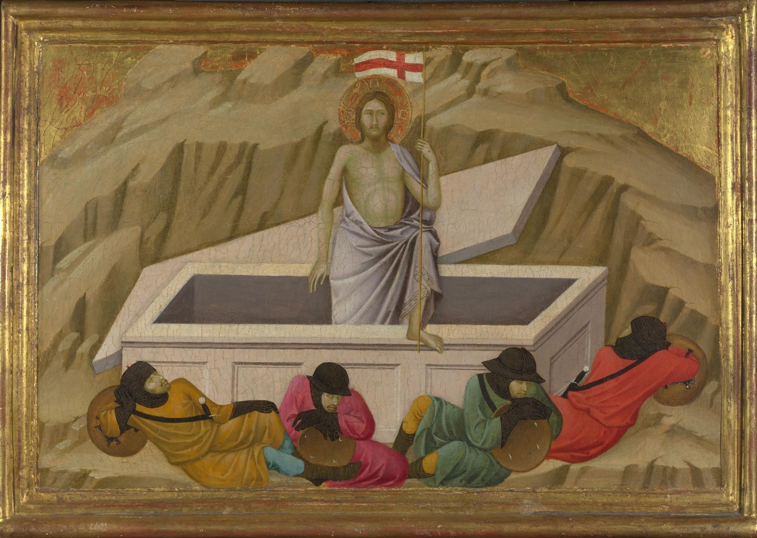 The Resurrection by Ugolino di Nerio
