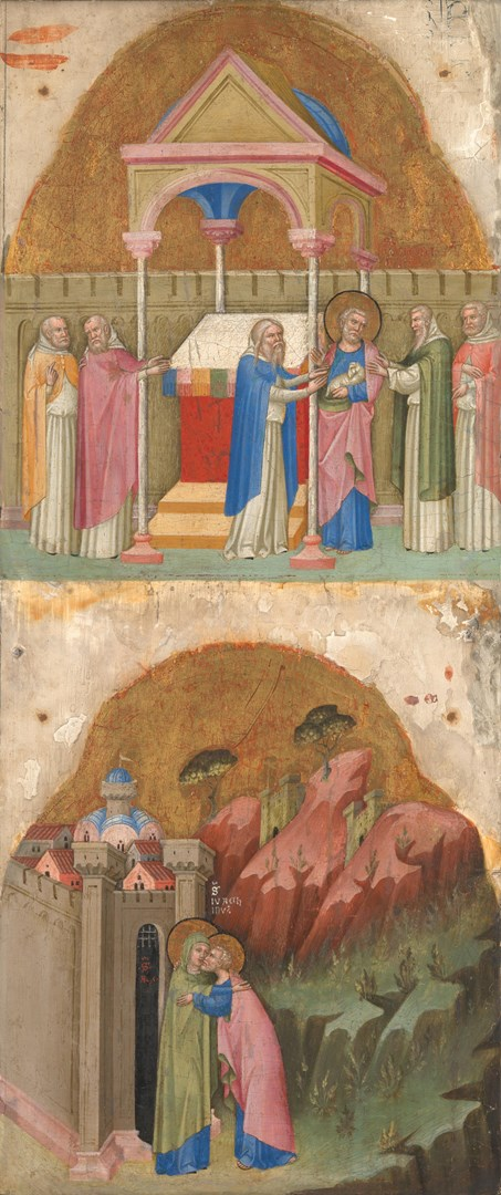 Saint Joachim's Offering; Meeting at the Golden Gate by Dalmatian/Venetian