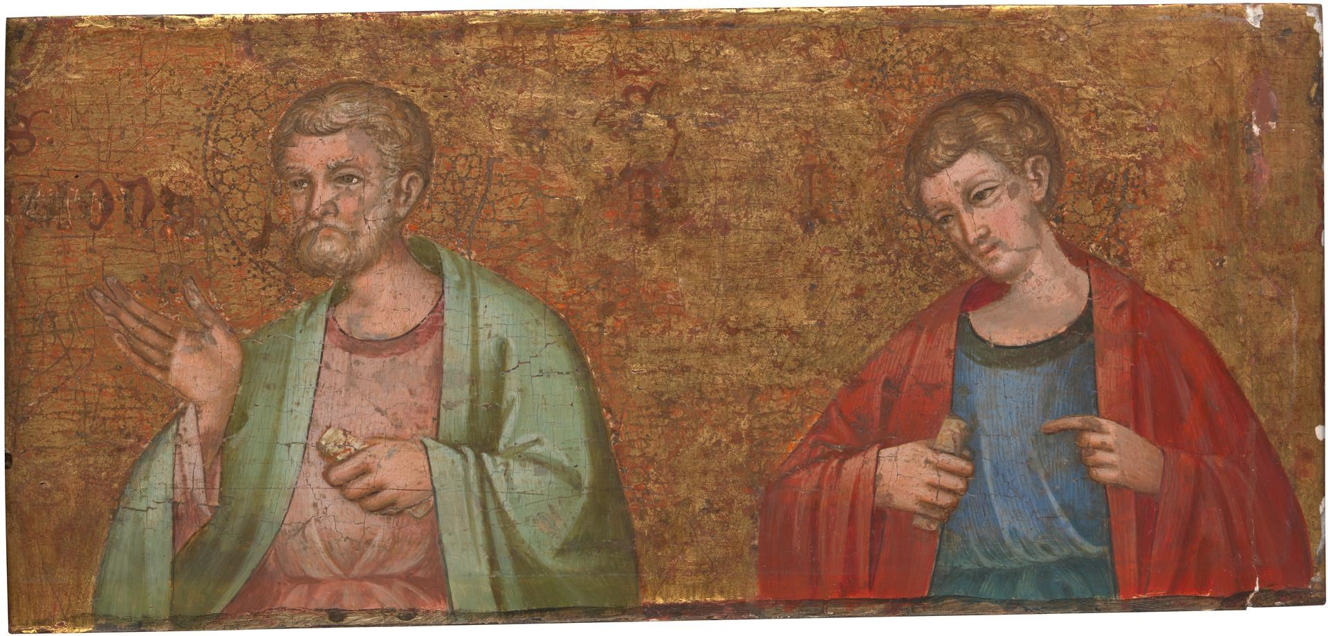Two Apostles (Saints Simon and Thomas) by Dalmatian/Venetian