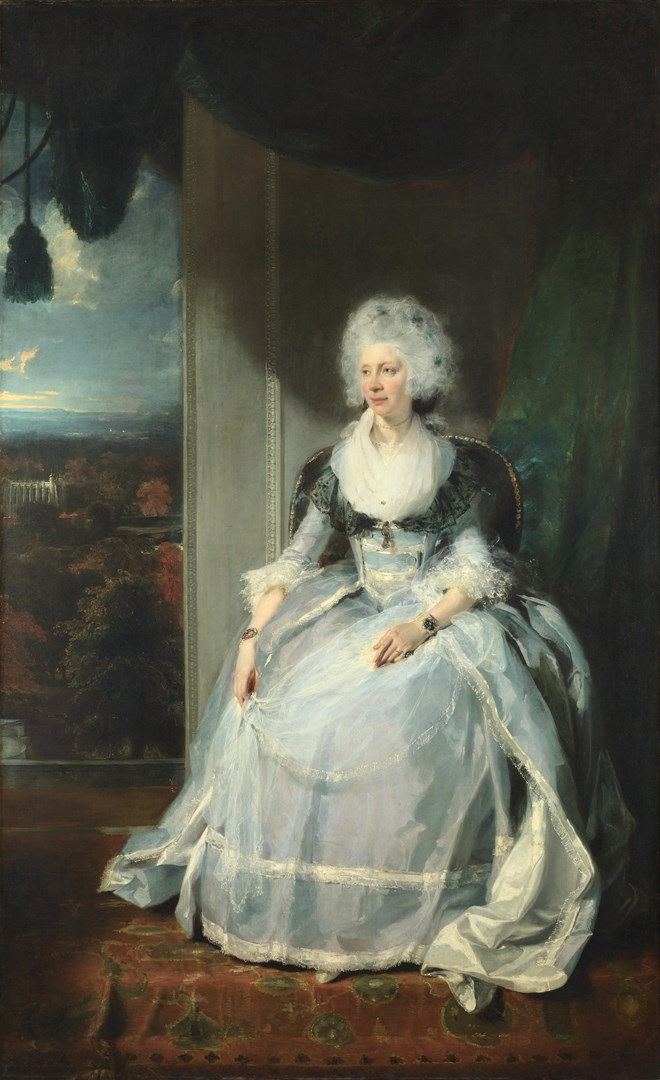 Queen Charlotte by Sir Thomas Lawrence