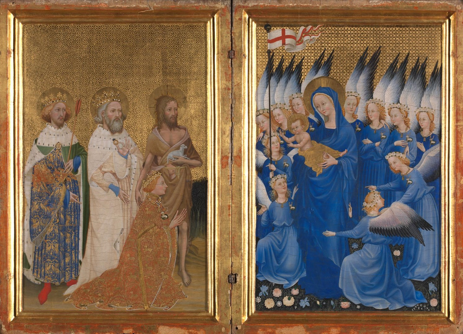 The Wilton Diptych by English or French (?)