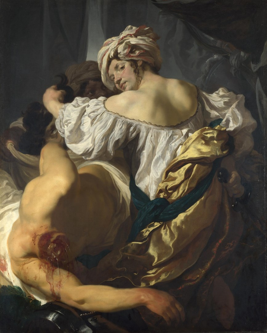 Judith in the Tent of Holofernes by Johann Liss