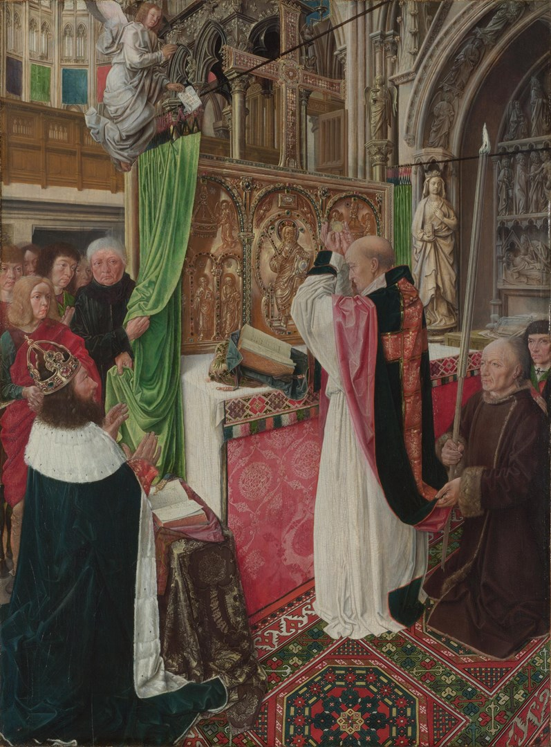 The Mass of Saint Giles by Master of Saint Giles