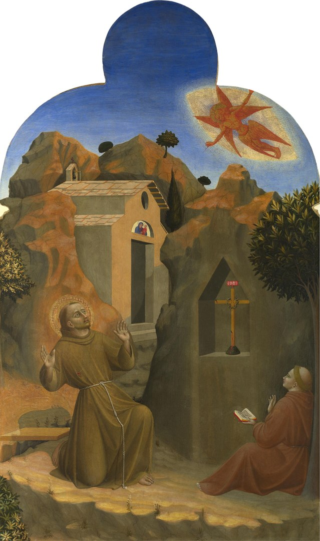 The Stigmatisation of Saint Francis by Sassetta