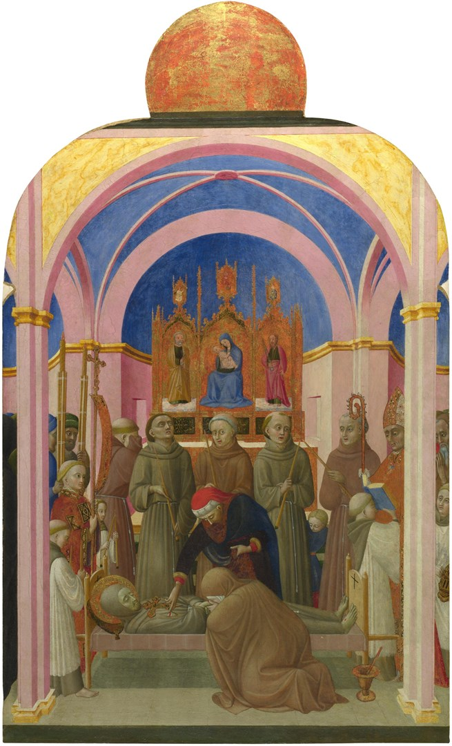 The Funeral of Saint Francis by Sassetta