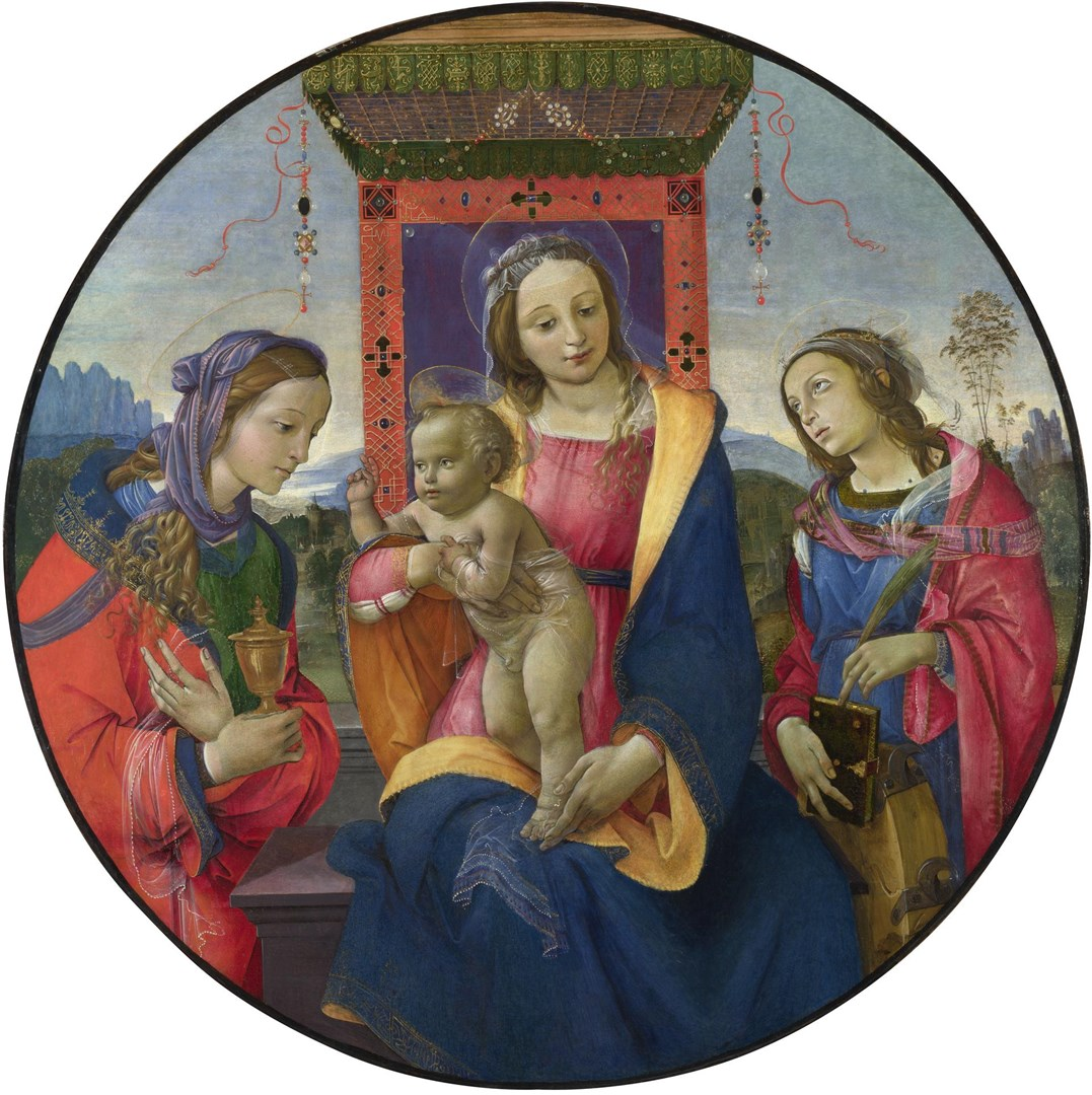 The Virgin and Child with Saints by Raffaellino del Garbo
