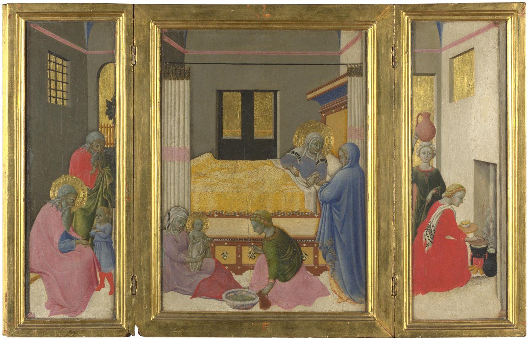 The Birth of the Virgin by Master of the Osservanza