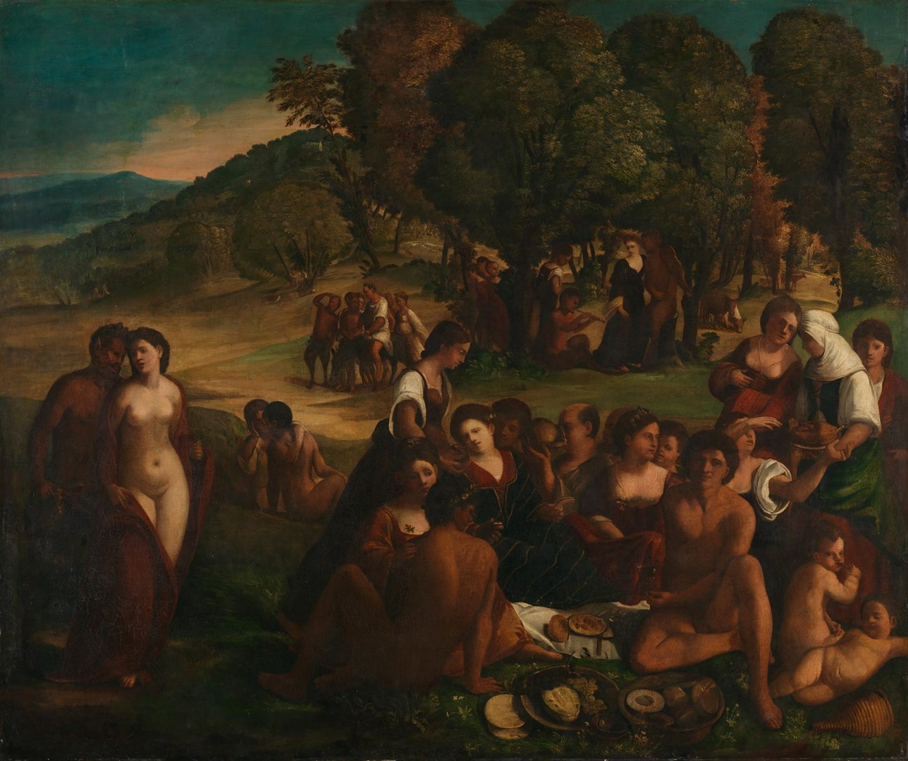 A Bacchanal by Follower of Dosso Dossi