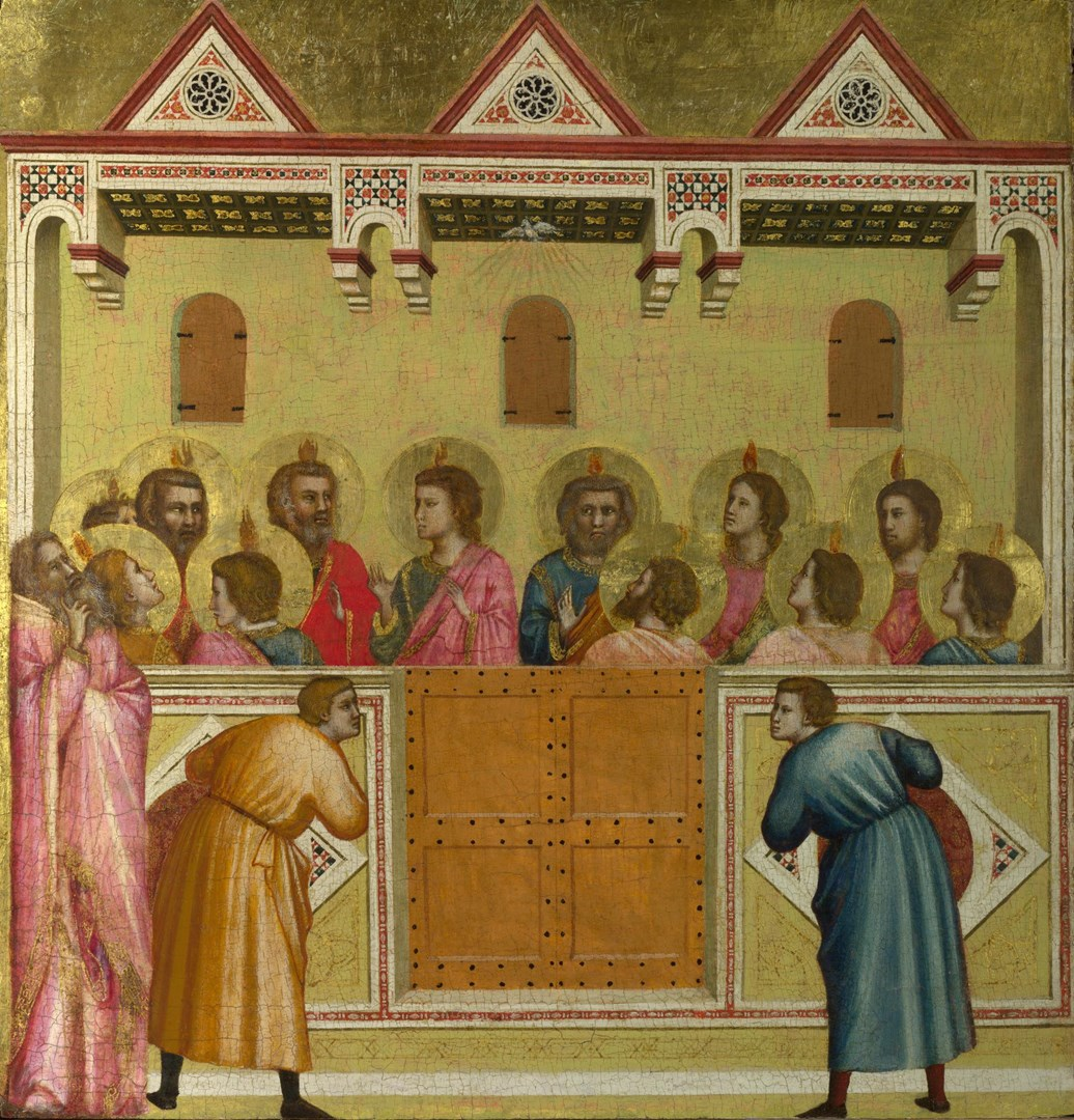 Pentecost by Giotto and Workshop