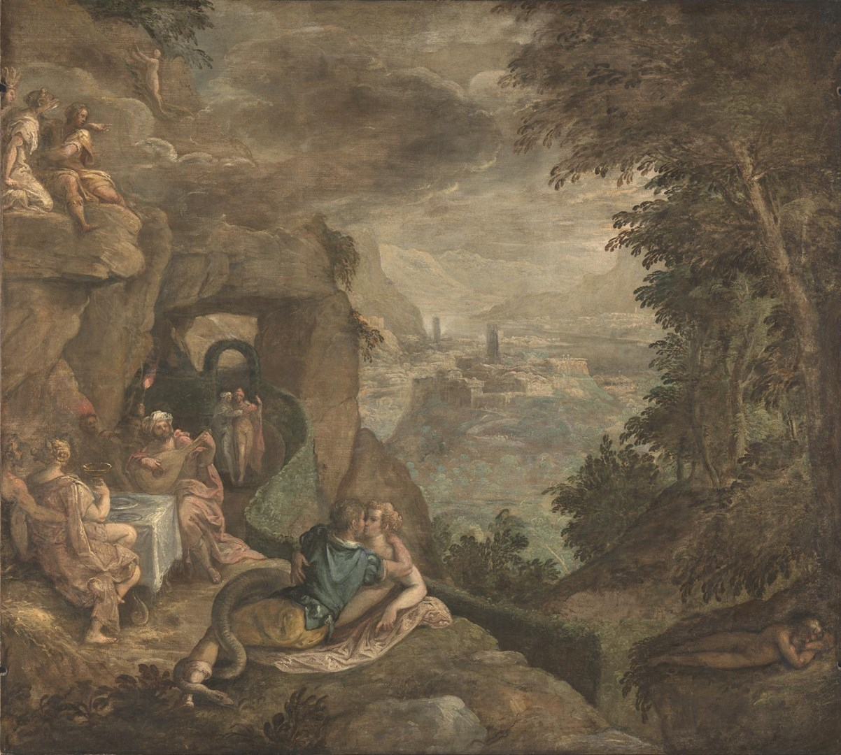 Landscape with a Scene of Enchantment by Paolo Fiammingo
