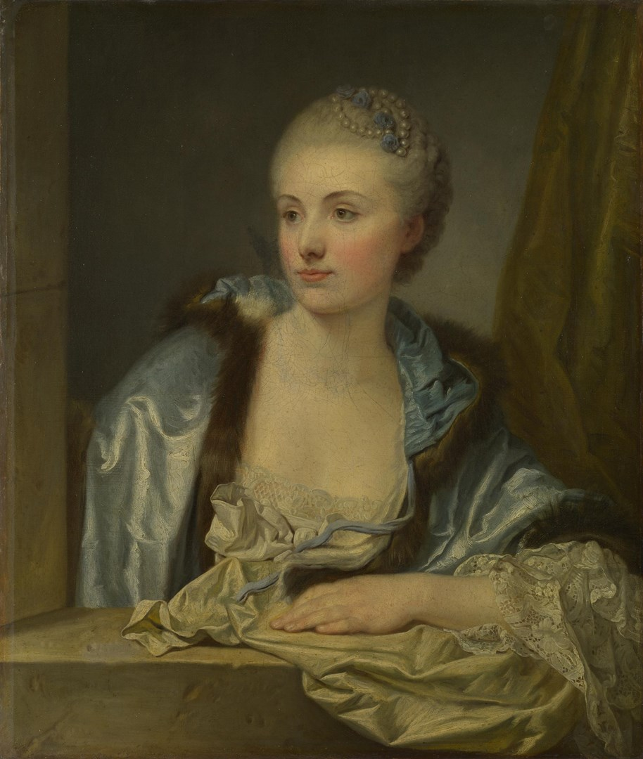 Portrait of a Lady (Madame de Gléon?) by Jean-Baptiste Greuze