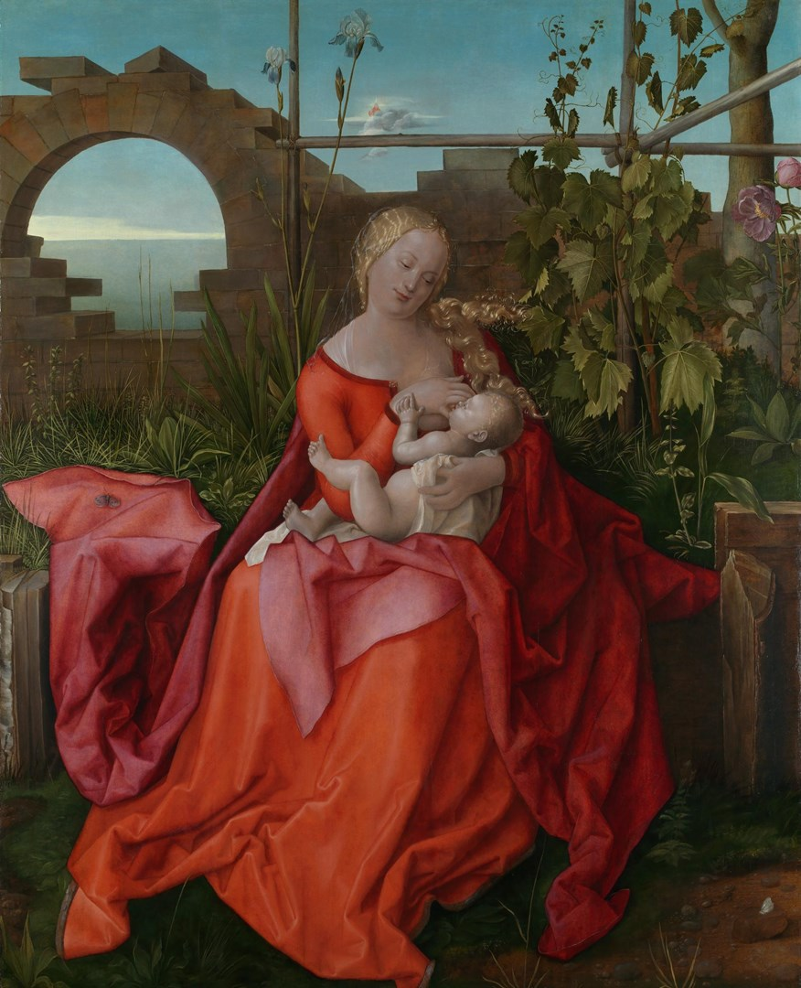 The Virgin and Child ('The Madonna with the Iris') by Workshop of Albrecht Dürer