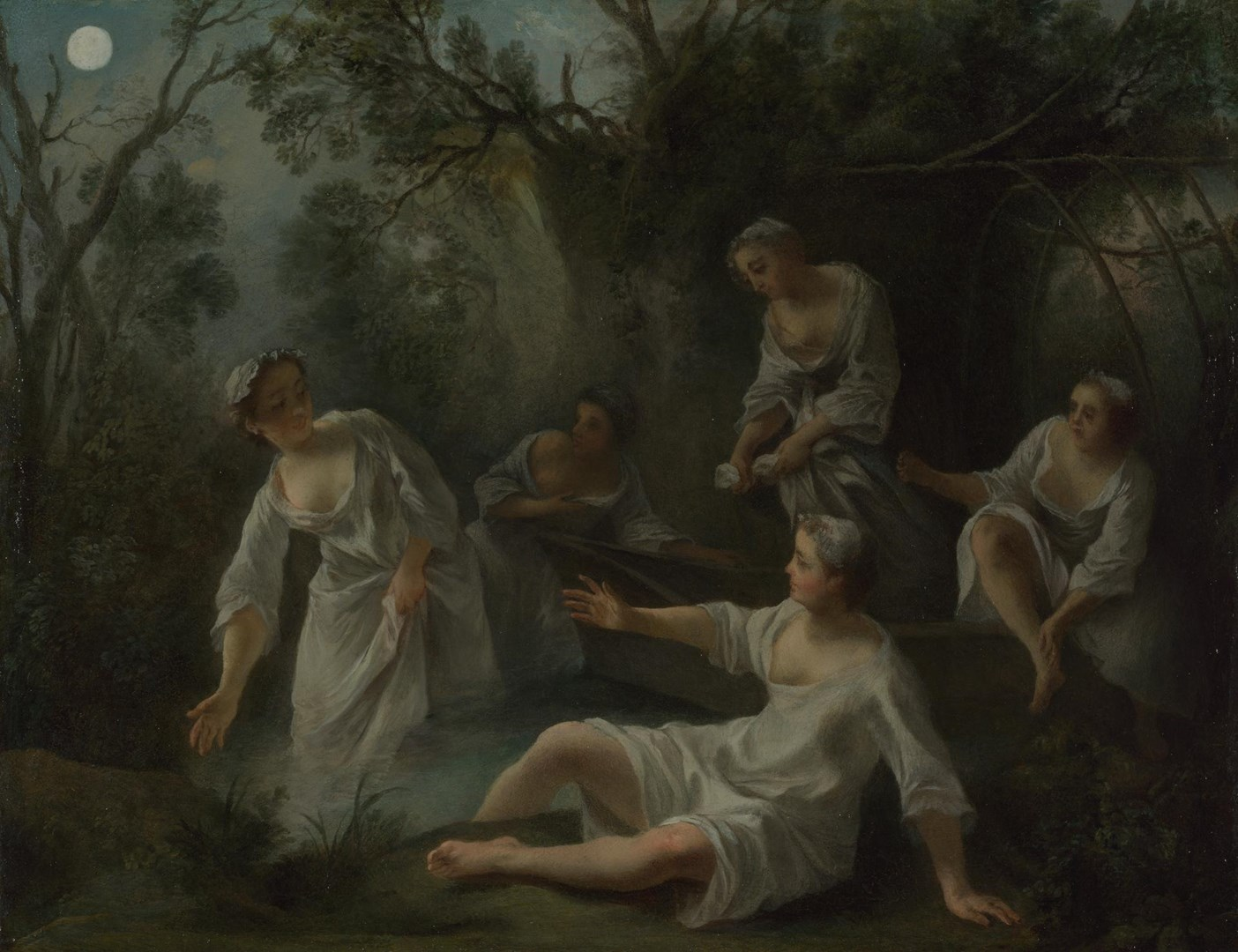The Four Times of Day: Evening by Nicolas Lancret