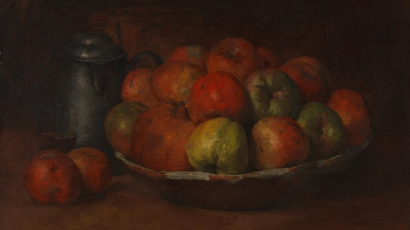 Gustave Courbet, 'Still Life with Apples and a Pomegranate', 1871-2