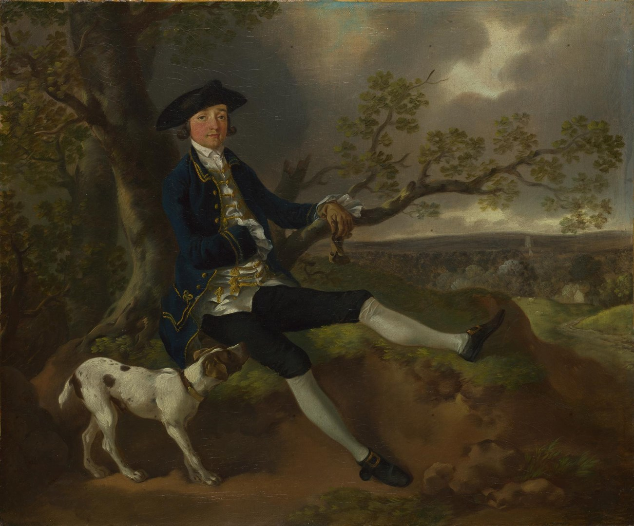 John Plampin by Thomas Gainsborough