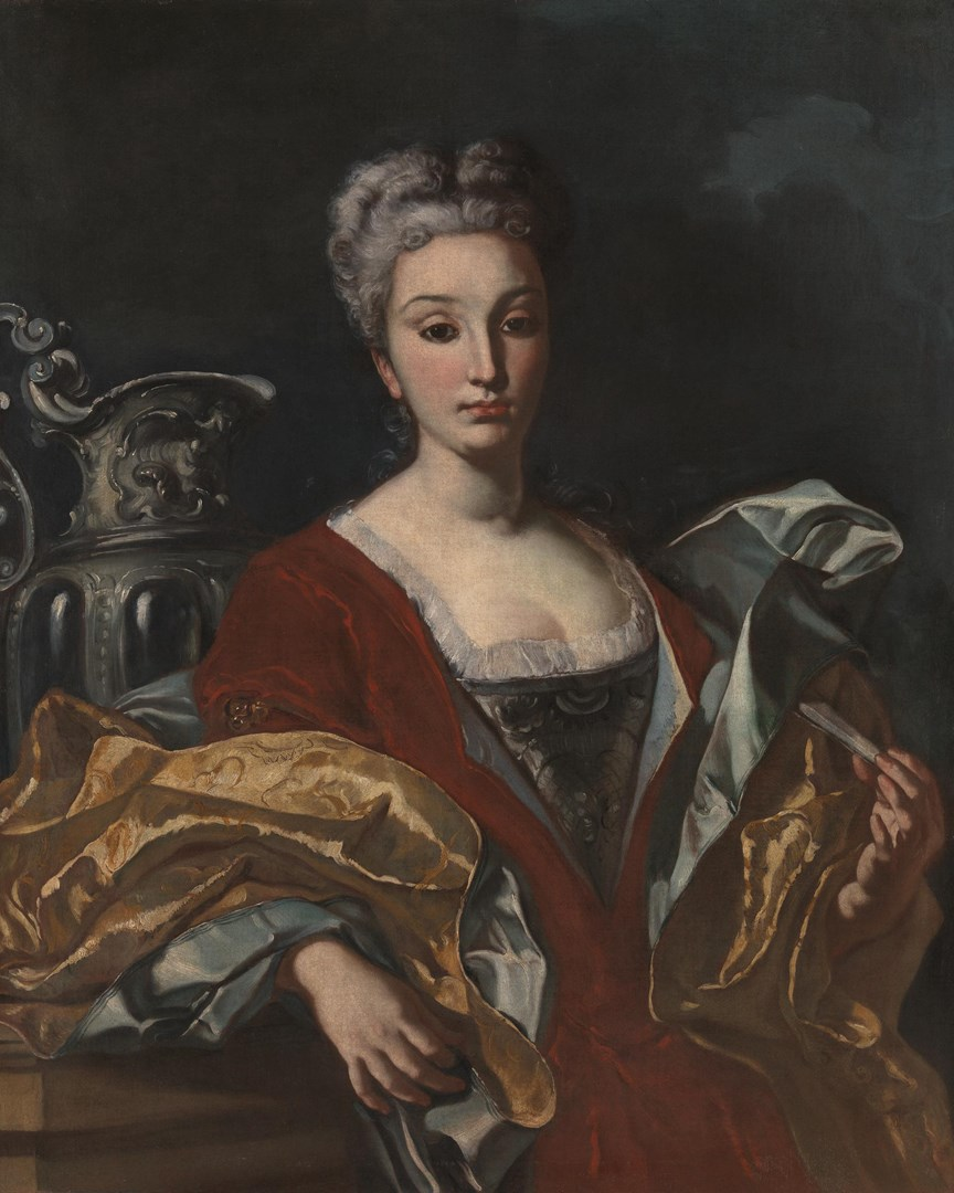 Portrait of a Lady by Francesco Solimena