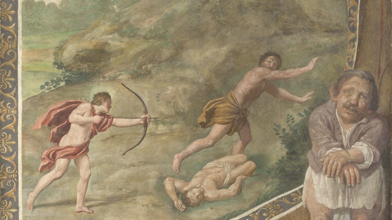 Domenichino and assistants, 'Apollo killing the Cyclops', 1616-18
