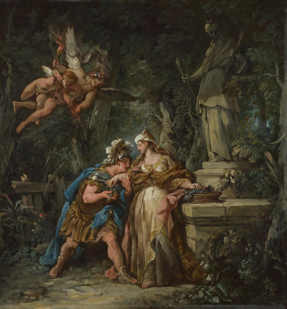 Jason swearing Eternal Affection to Medea by Jean-François de Troy