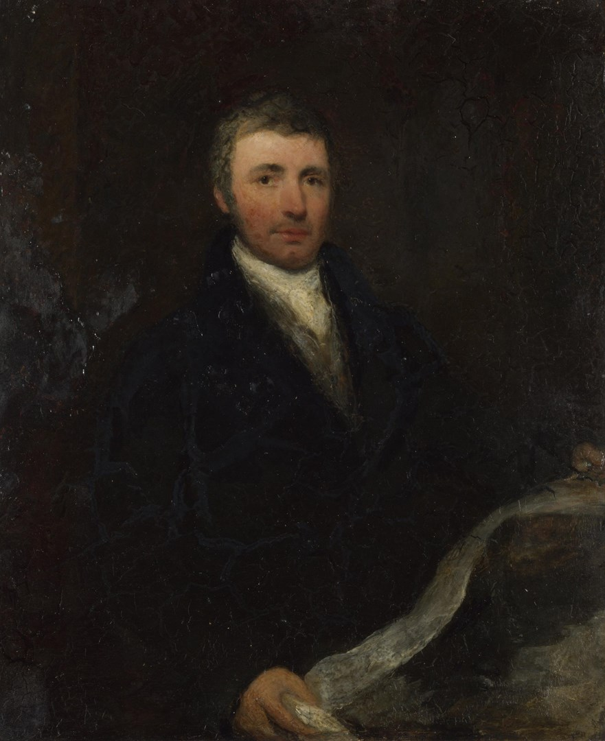Portrait of a Man aged about 45 by British (possibly Sir William Boxall)