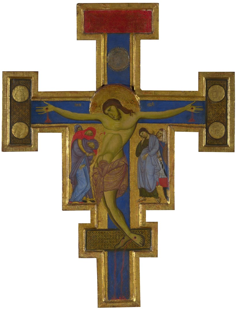 Crucifix by Master of Saint Francis