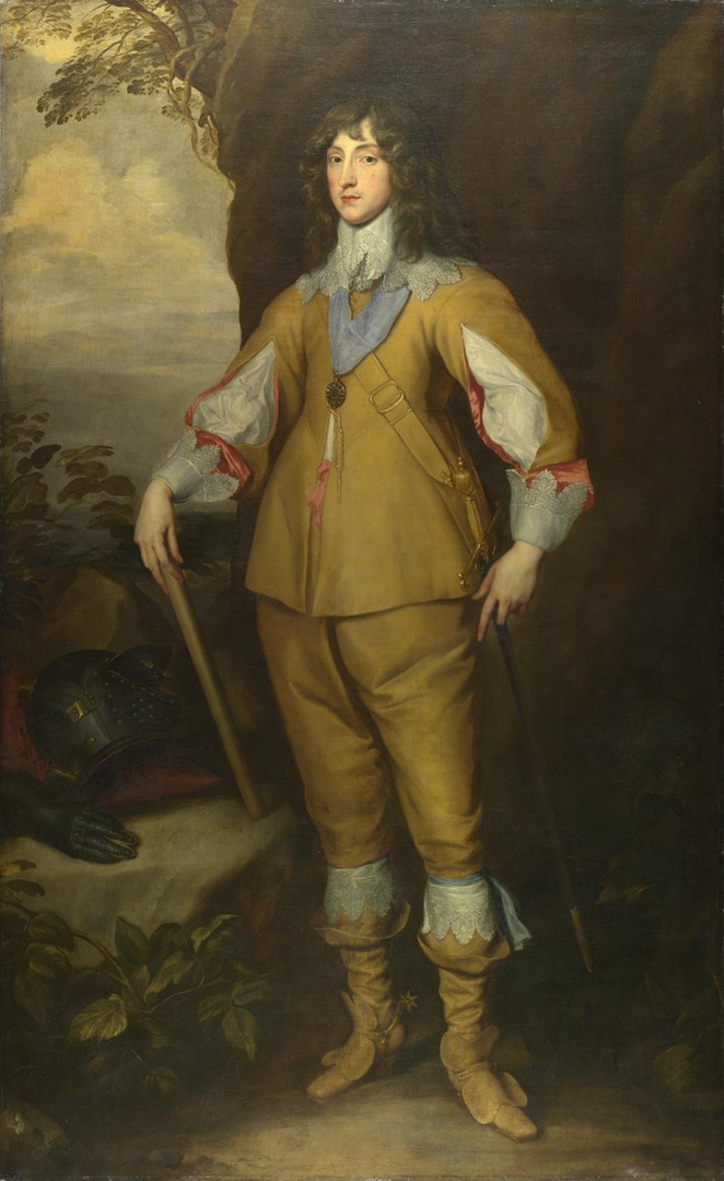 Prince Charles Louis, Count Palatine by Studio of Anthony van Dyck