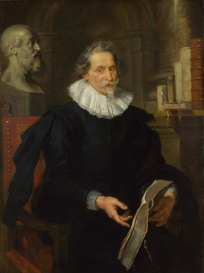Portrait of Ludovicus Nonnius by Peter Paul Rubens