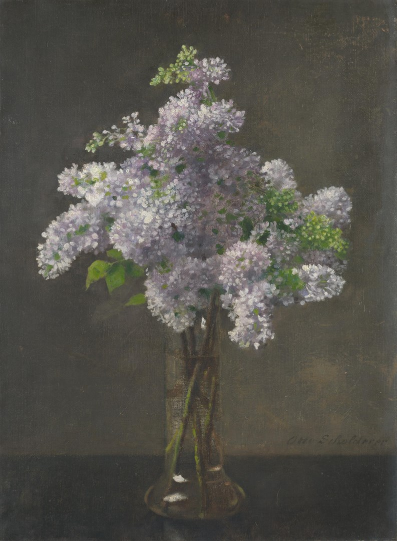 Lilac by Otto Franz Scholderer