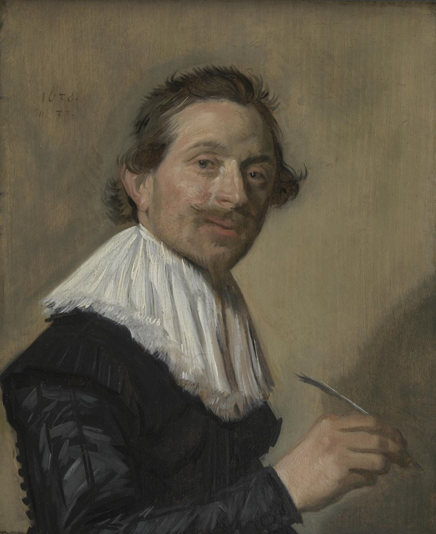 Portrait of Jean de la Chambre at the Age of 33 by Frans Hals