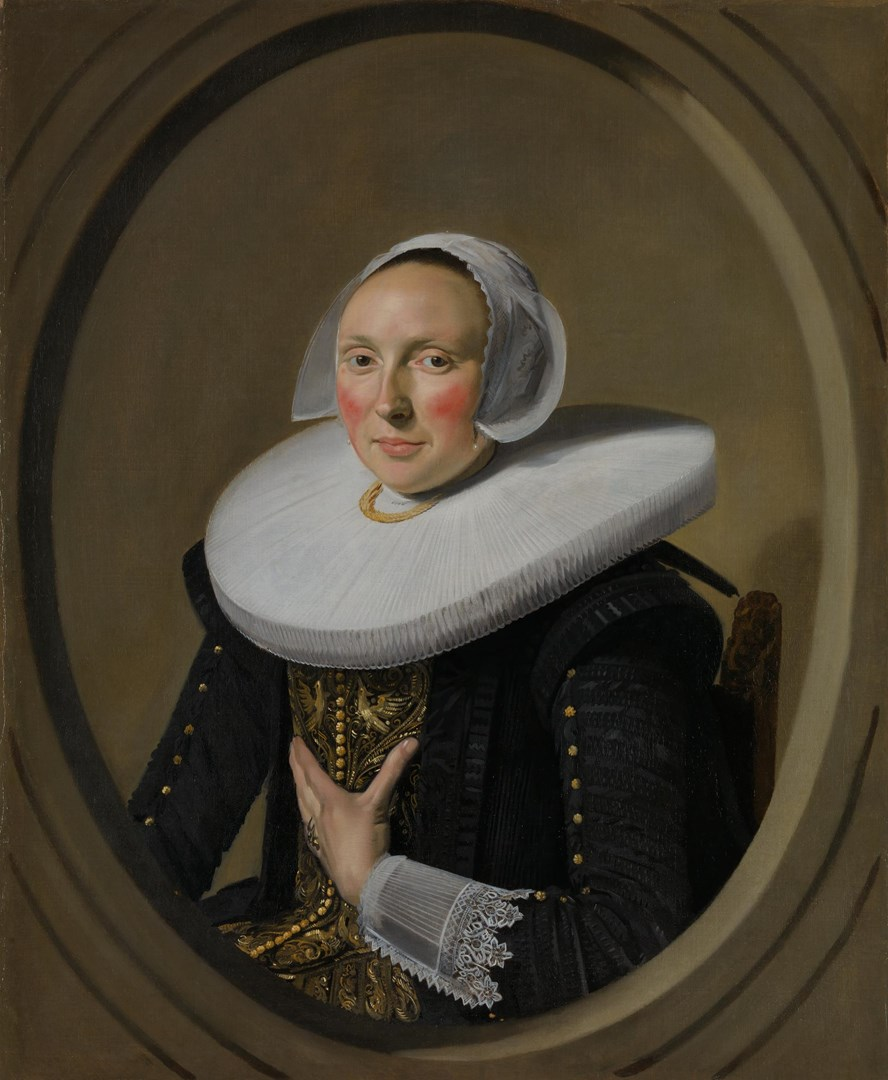 Portrait of a Woman (Marie Larp?) by Frans Hals