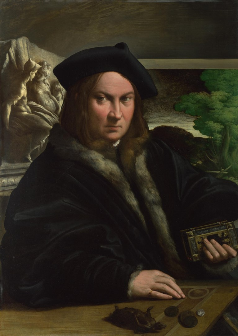 Portrait of a Collector by Parmigianino
