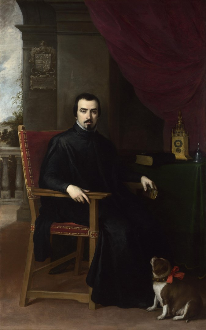 Portrait of Don Justino de Neve by Bartolomé Esteban Murillo