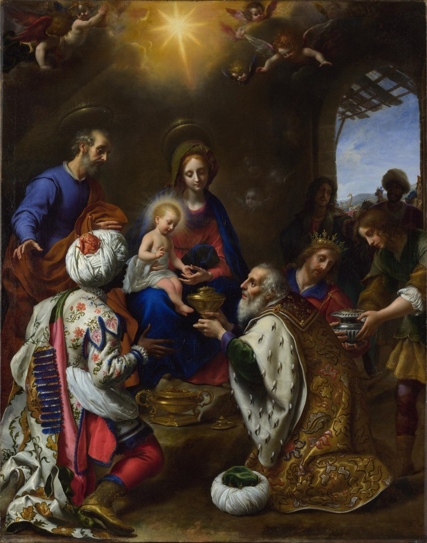 The Adoration of the Kings by Carlo Dolci