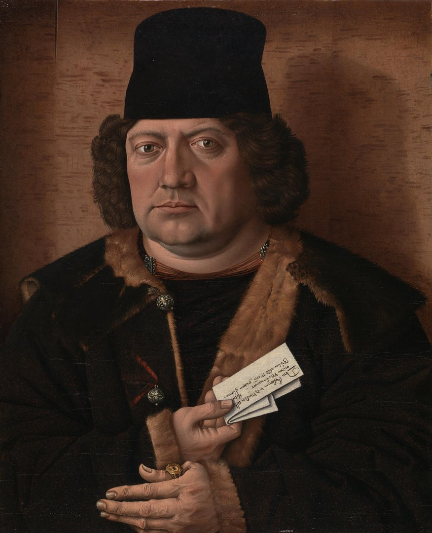Portrait of Alexander Mornauer by Master of the Mornauer Portrait