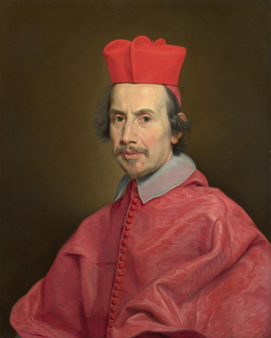 Portrait of Cardinal Marco Gallo by Giovanni Battista Gaulli (Baciccio)