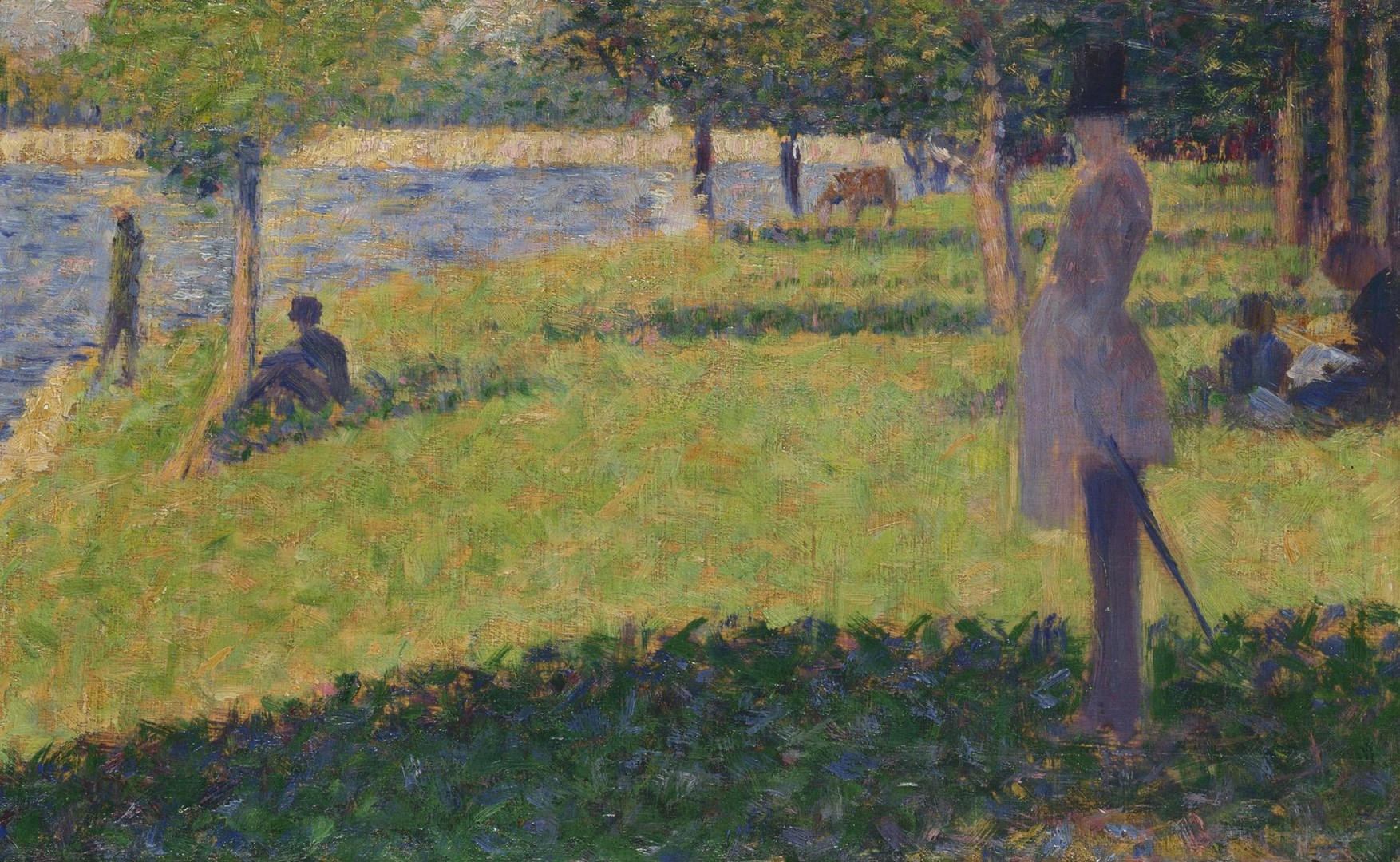 Study for 'La Grande Jatte' by Georges Seurat