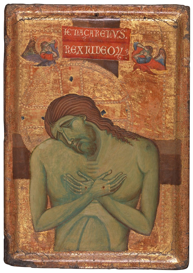 The Man of Sorrows by Master of the Borgo Crucifix (Master of the Franciscan Crucifixes)