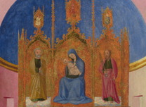 Sassetta, 'The Funeral of Saint Francis and Verification of the Stigmata'