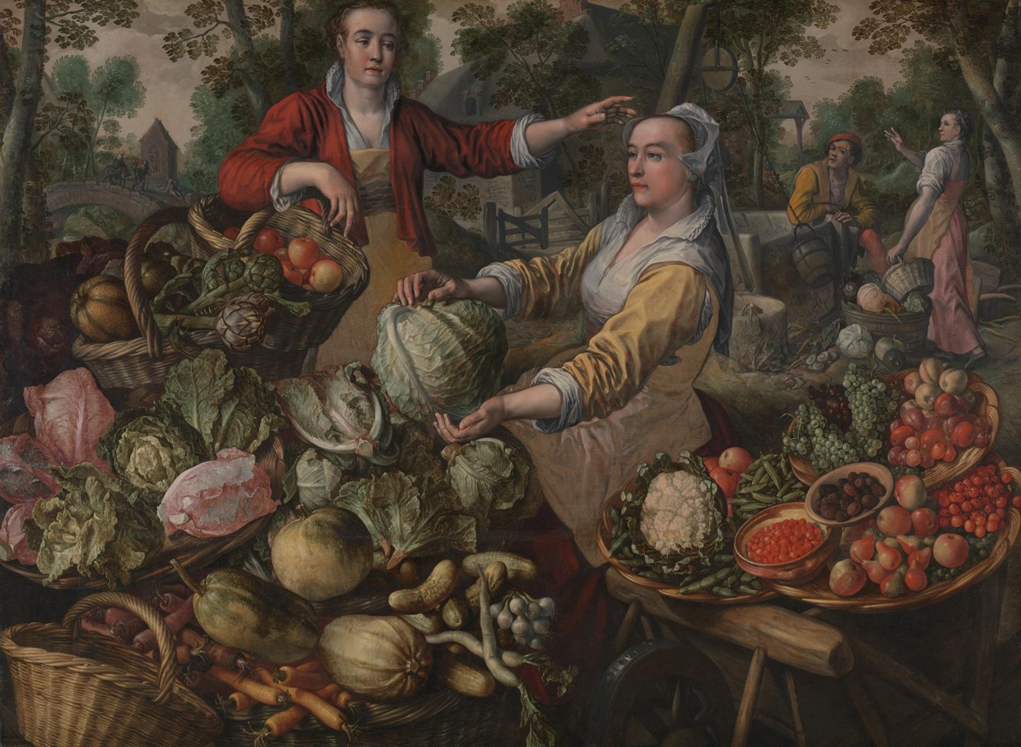The Four Elements: Earth by Joachim Beuckelaer