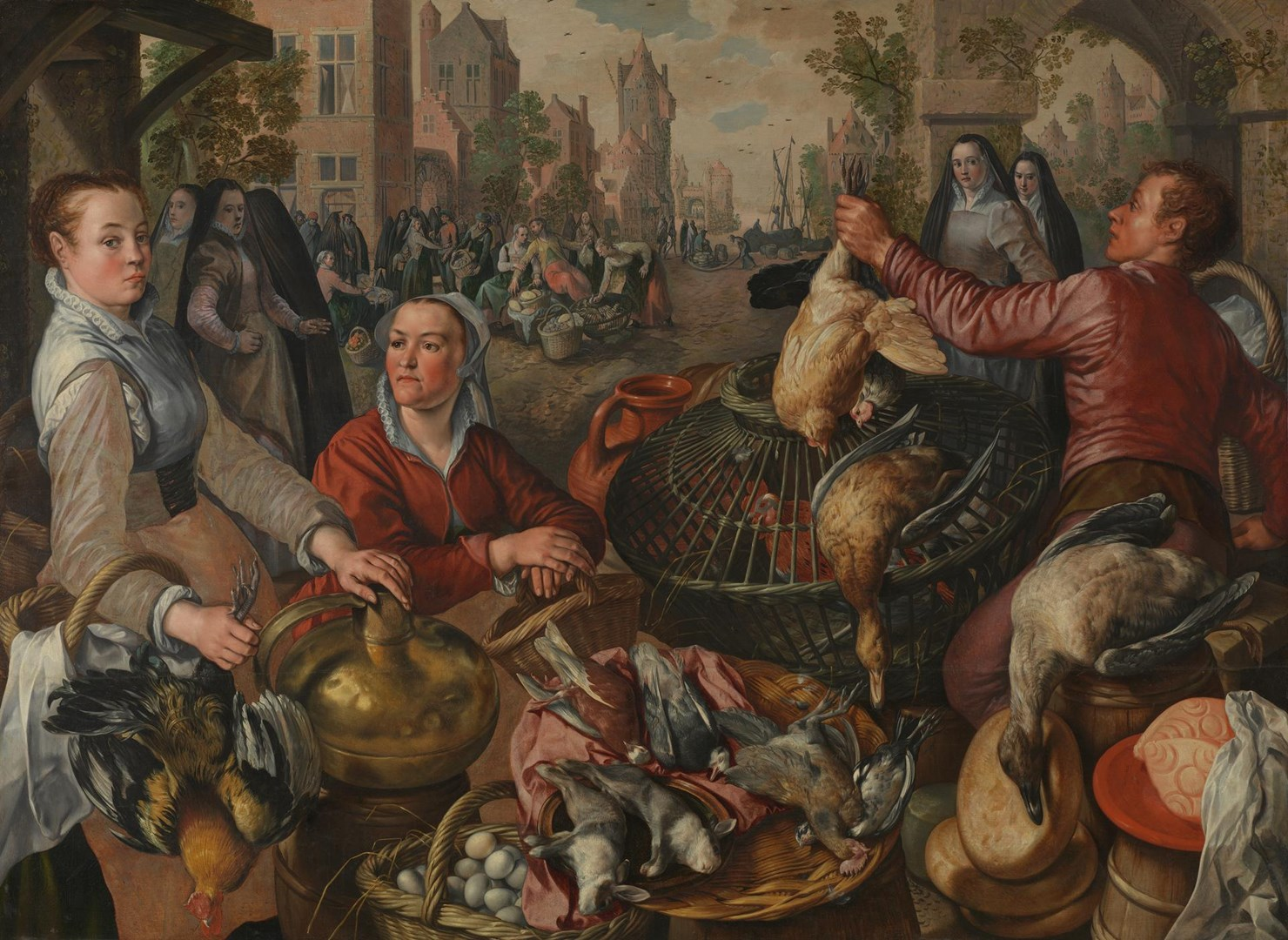 The Four Elements: Air by Joachim Beuckelaer