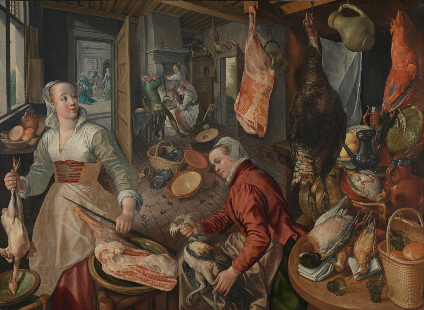 The Four Elements: Fire by Joachim Beuckelaer