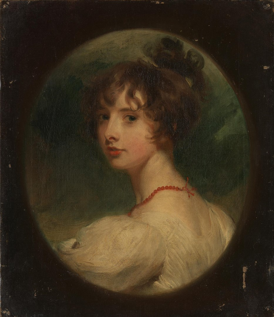 Portrait of the Hon. Emily Mary Lamb by Sir Thomas Lawrence